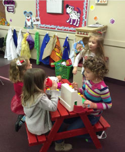 Preschool Friends at Preschool In Owensboro