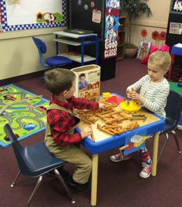 Preschool Friends Having Fun